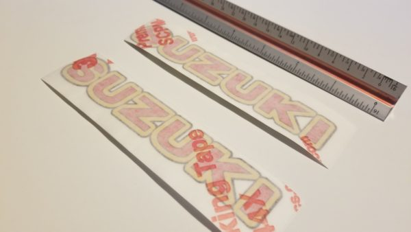 suzuki decal oem sticker