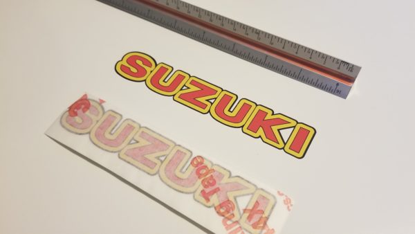 suzuki decal sticker oem